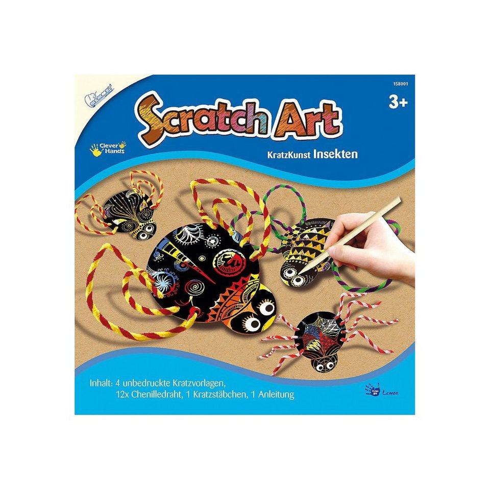 MAMMUT Spiel Geschenk und Geschenk Spiel Scratch Art Insekten 99a980