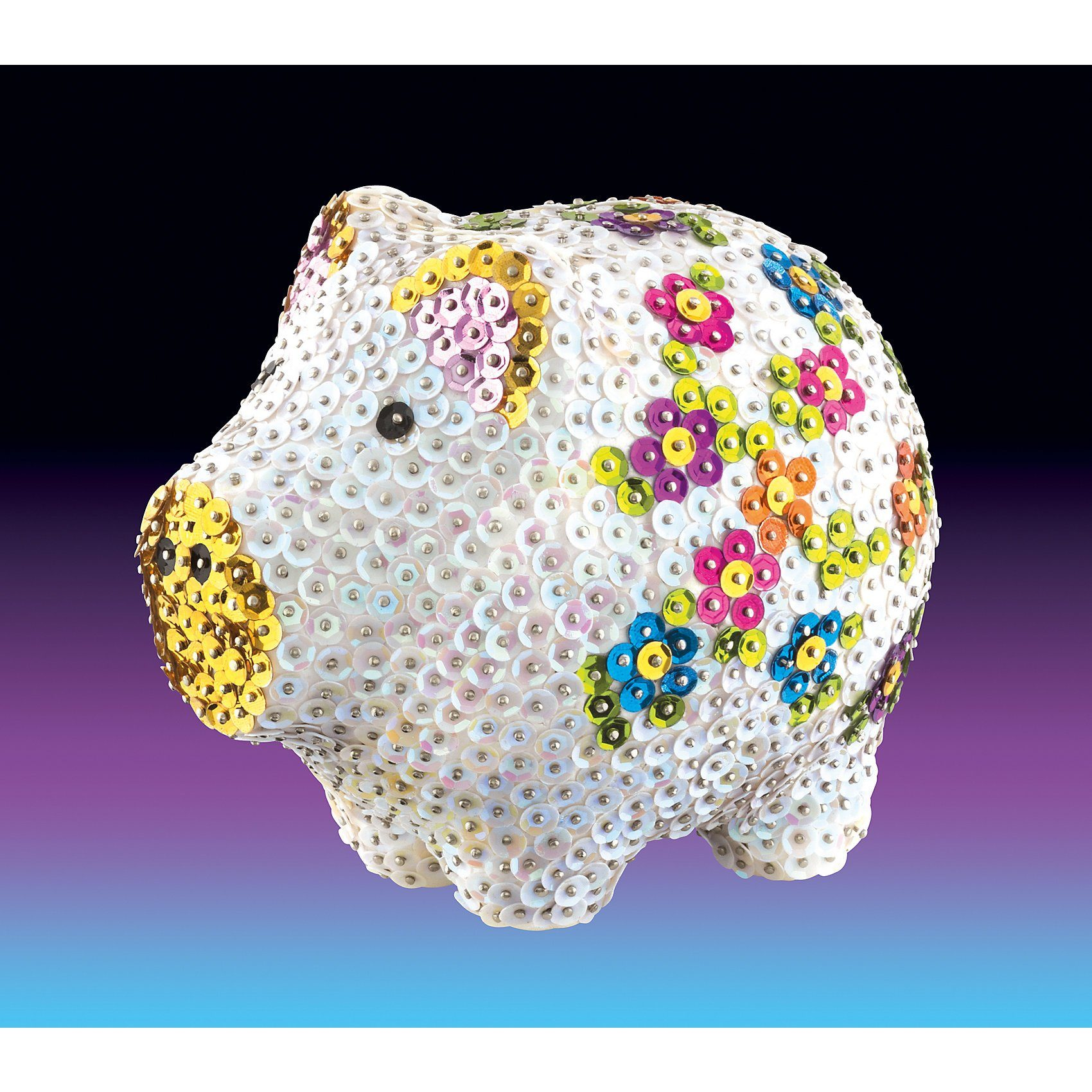 MAMMUT Spiel und Geschenk Sequin Art 3D Schwein