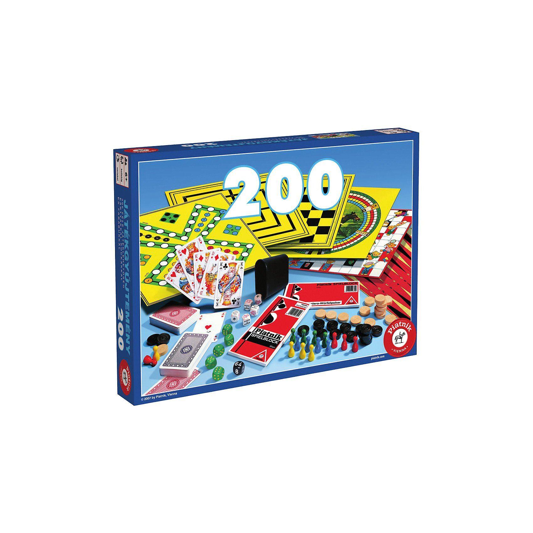 Piatnik Spielesammlung 200