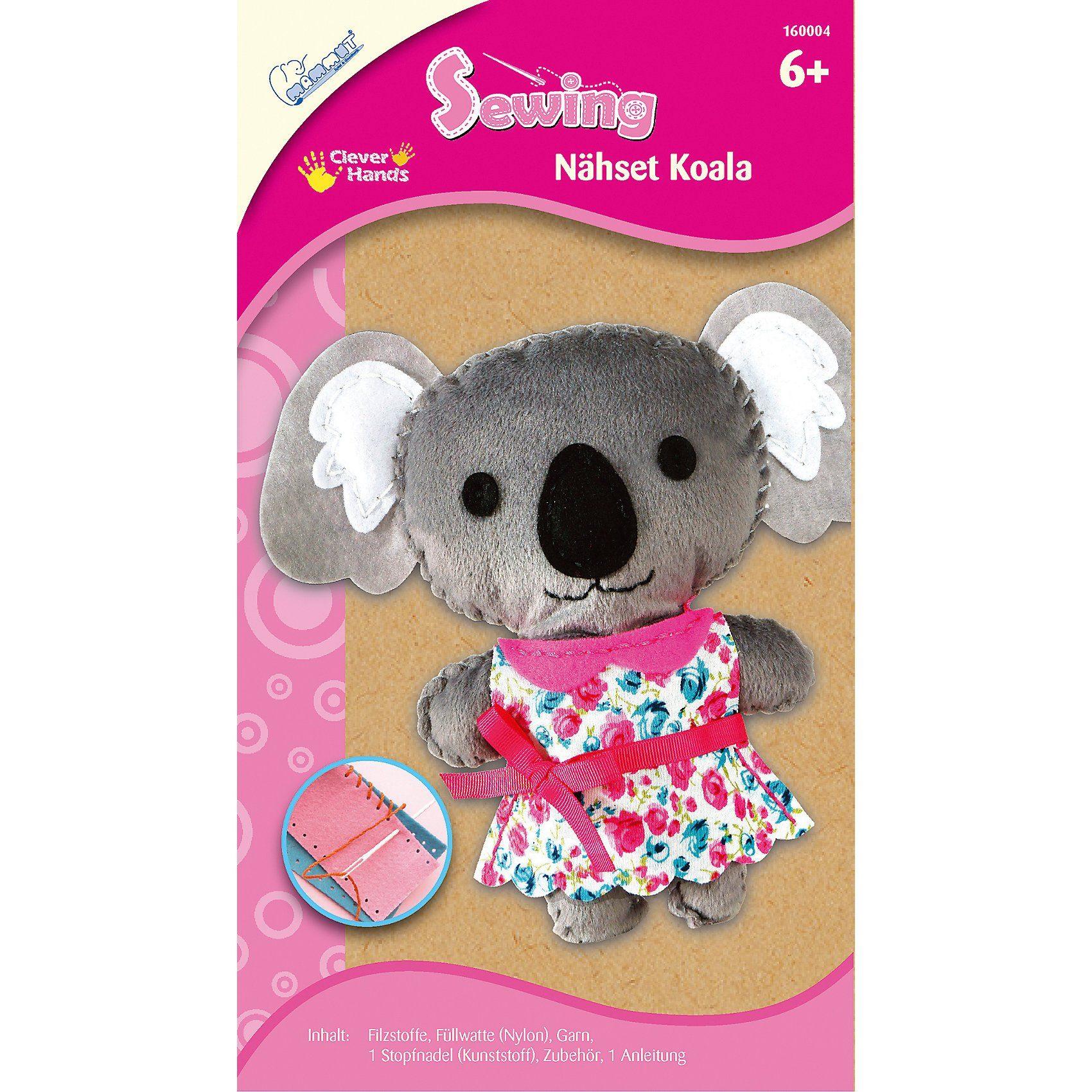 MAMMUT Spiel und Geschenk Nähset Koala