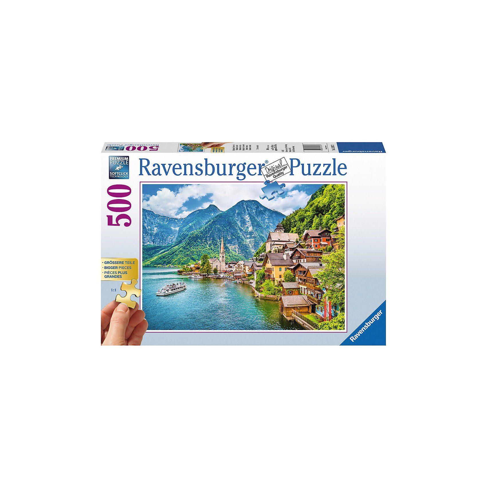 Ravensburger Puzzle 500 Teile, 61x46 cm, Gold Edition: größere Teile, Hal