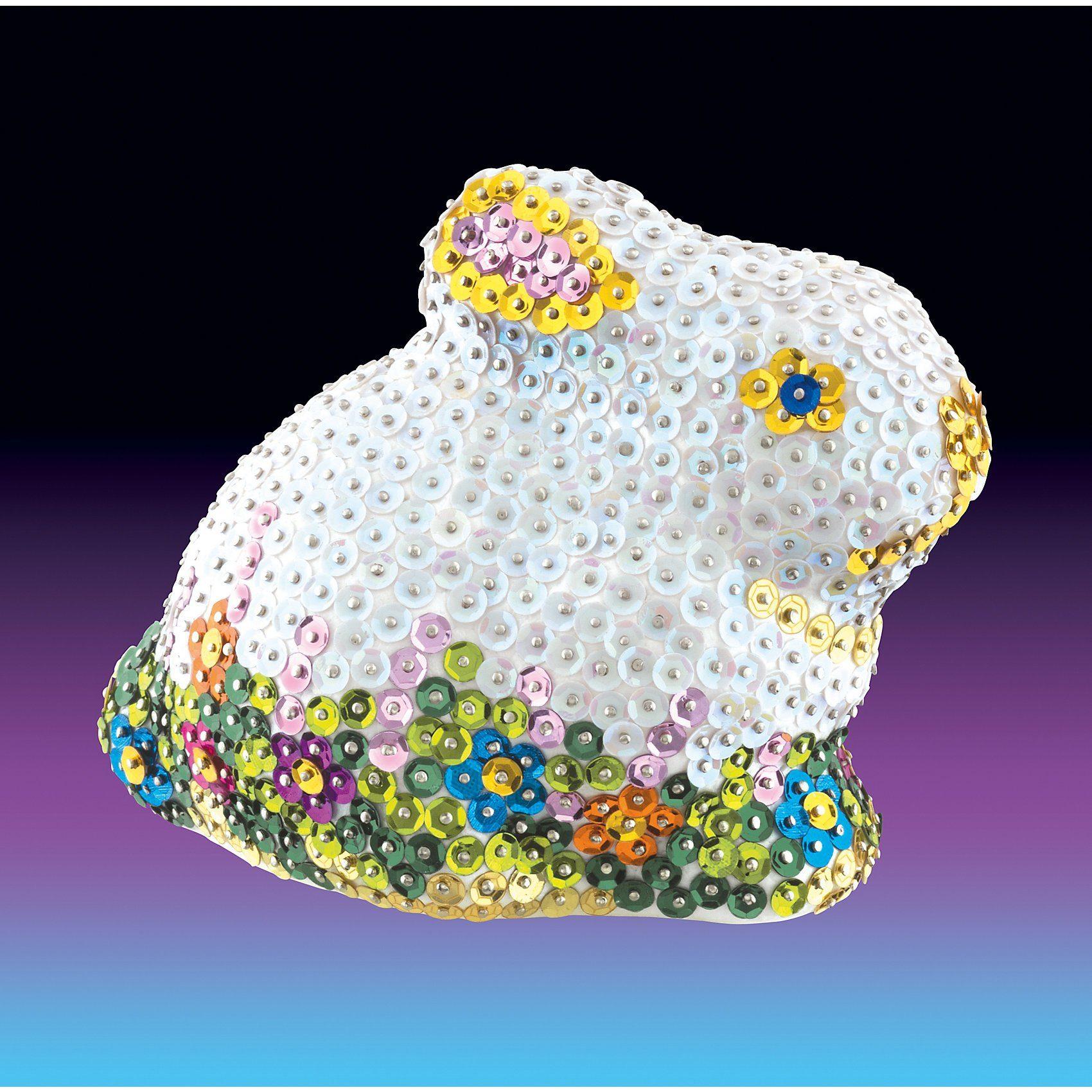 MAMMUT Spiel und Geschenk Sequin Art 3D Hase
