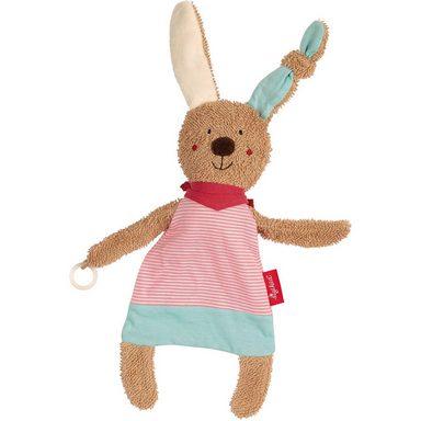 Sigikid Schnuller-Schnuffeltuch Hase pink (38847)