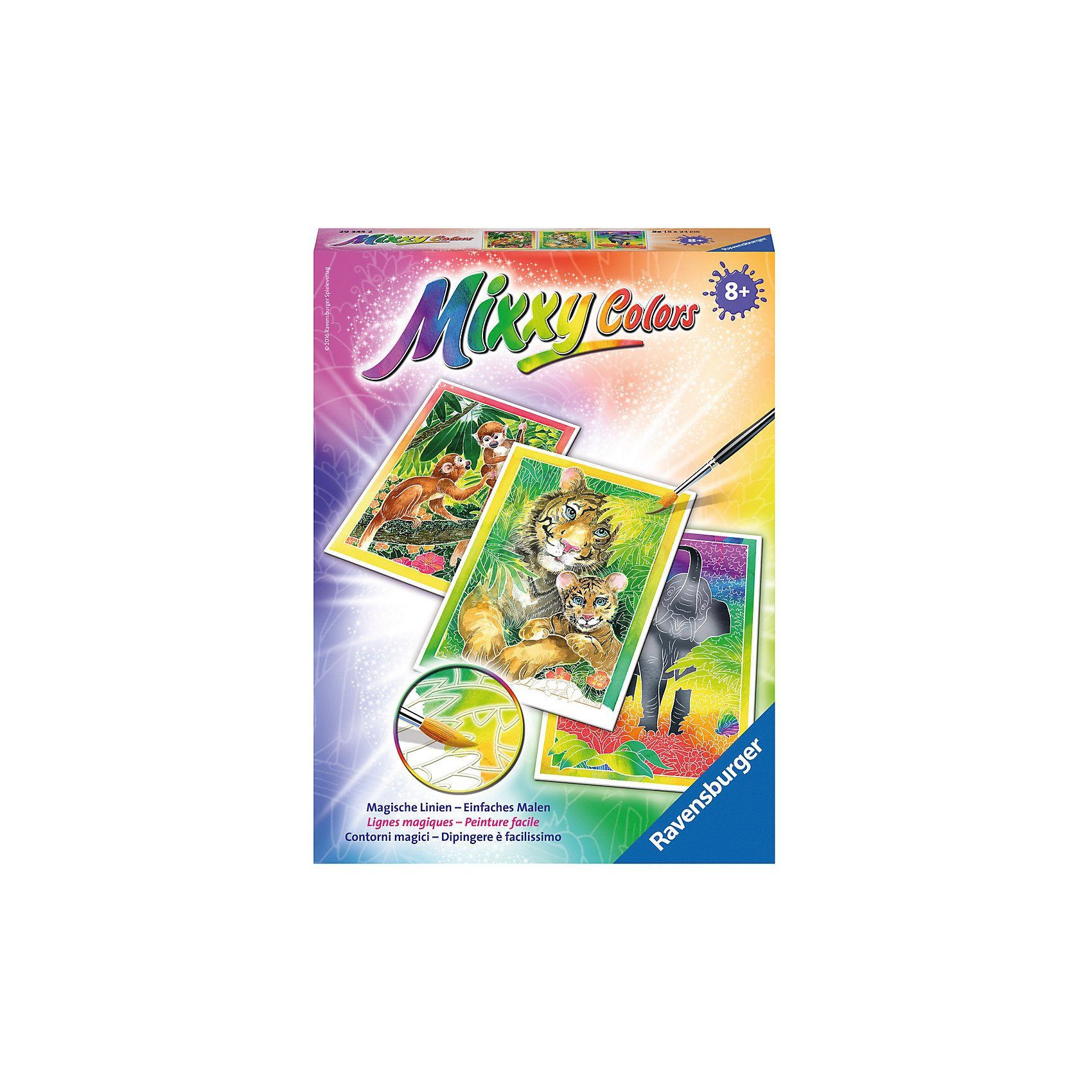 Ravensburger Mixxy Colors Dschungeltiere