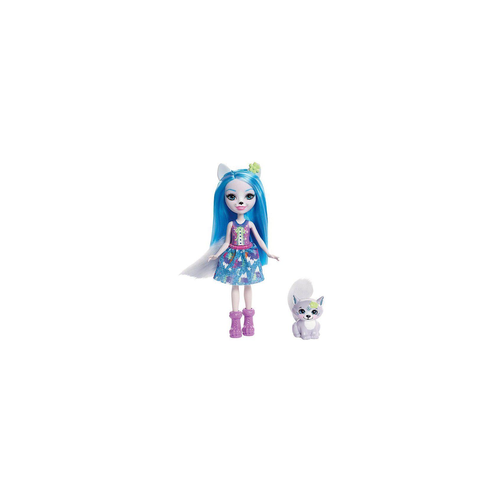 Mattel® Enchantimals Wolfsmädchen Winsley Puppe