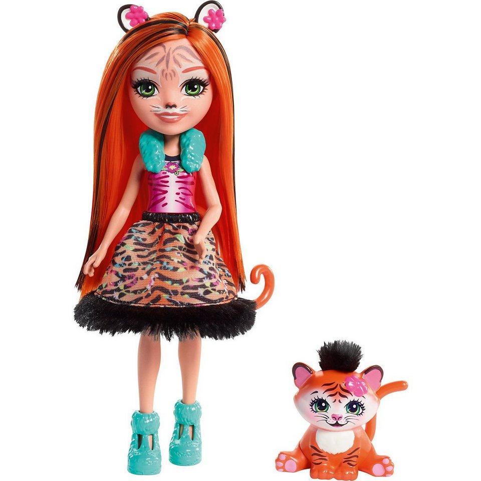 Mattel® Enchantimals Tigermädchen Tanzie Puppe