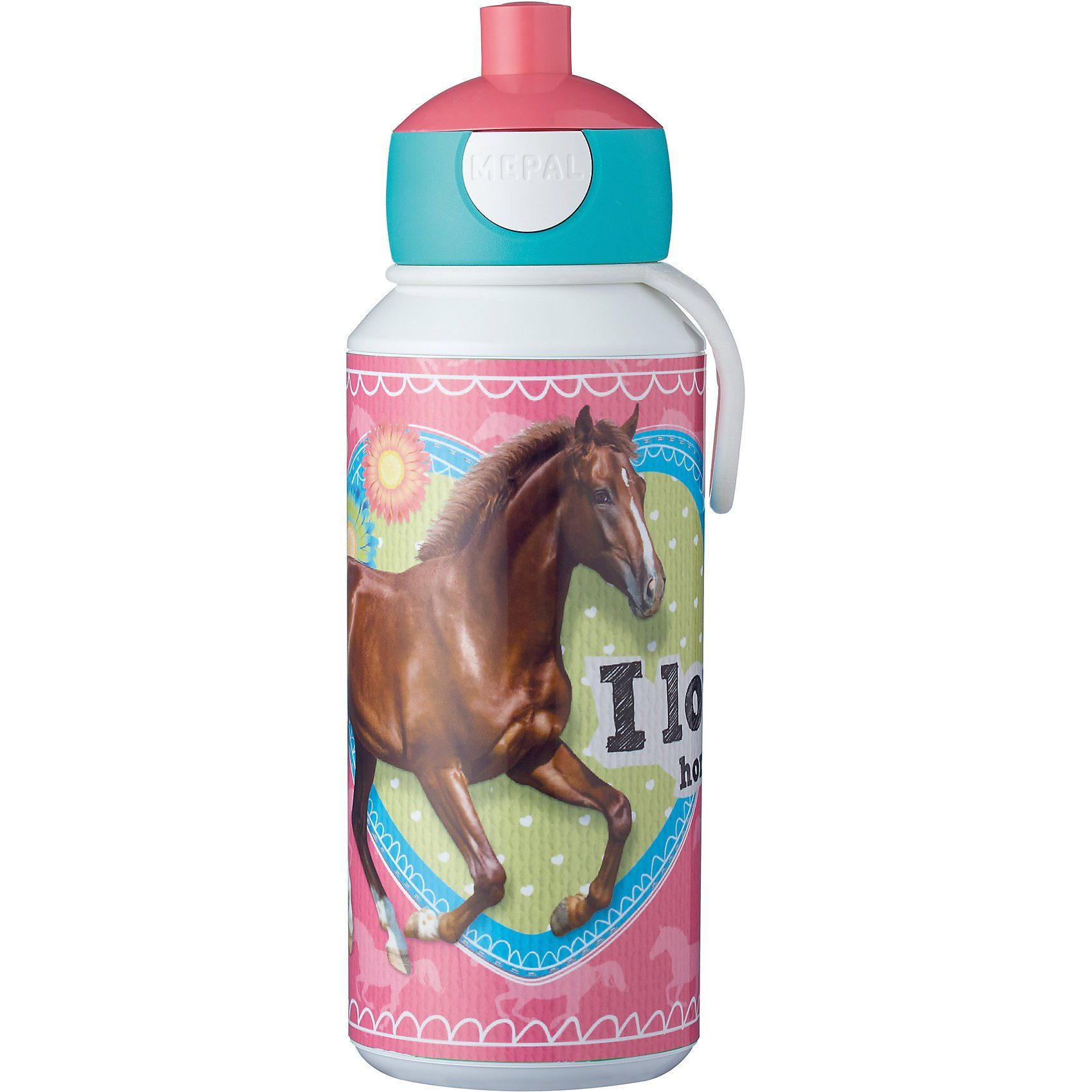 Rosti Mepal Trinkflasche pop-up campus My Horse, 400 ml