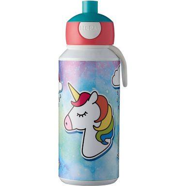 Rosti Mepal Trinkflasche pop-up campus 400 ml, Unicorn