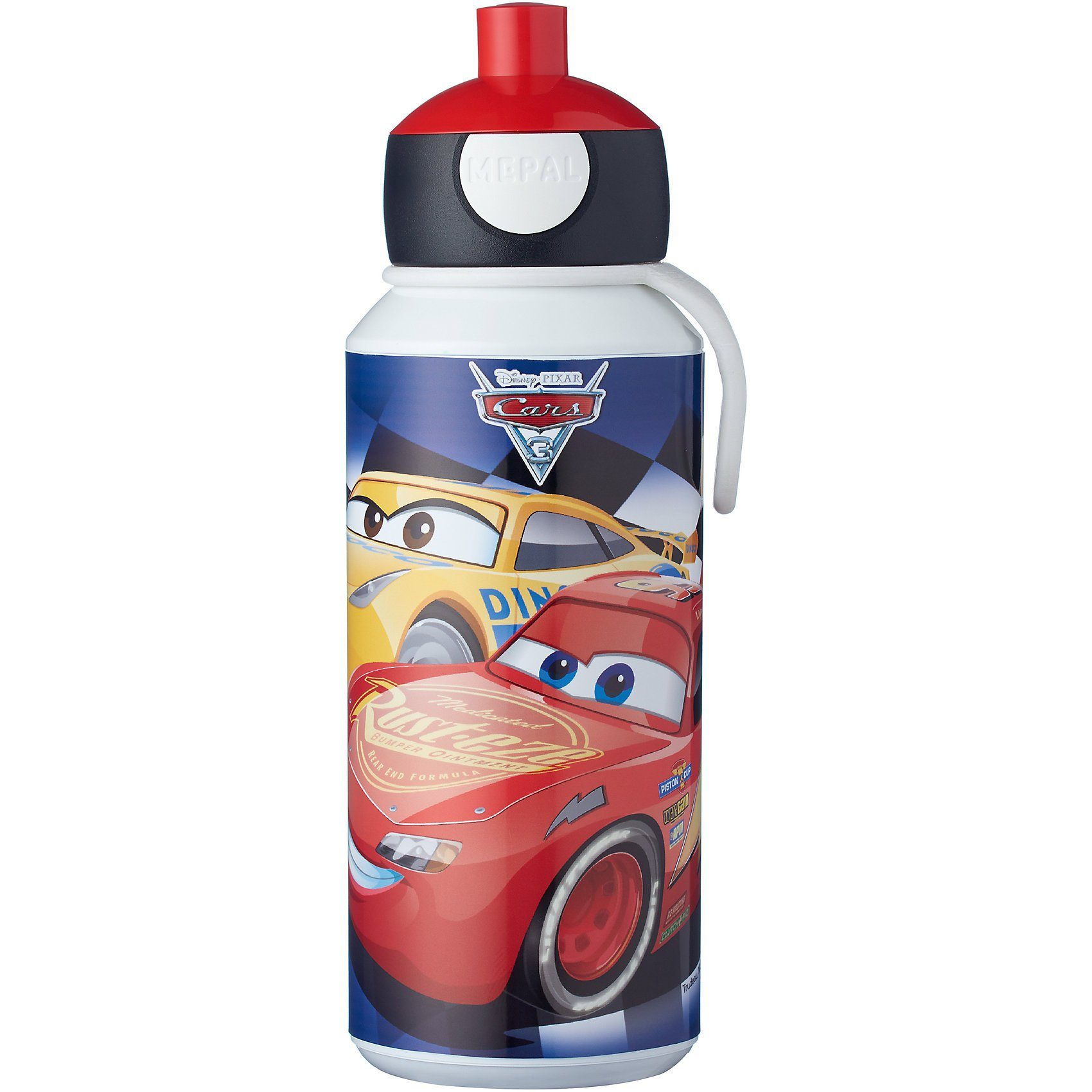 Rosti Mepal Trinkflasche pop-up campus Cars, 400 ml