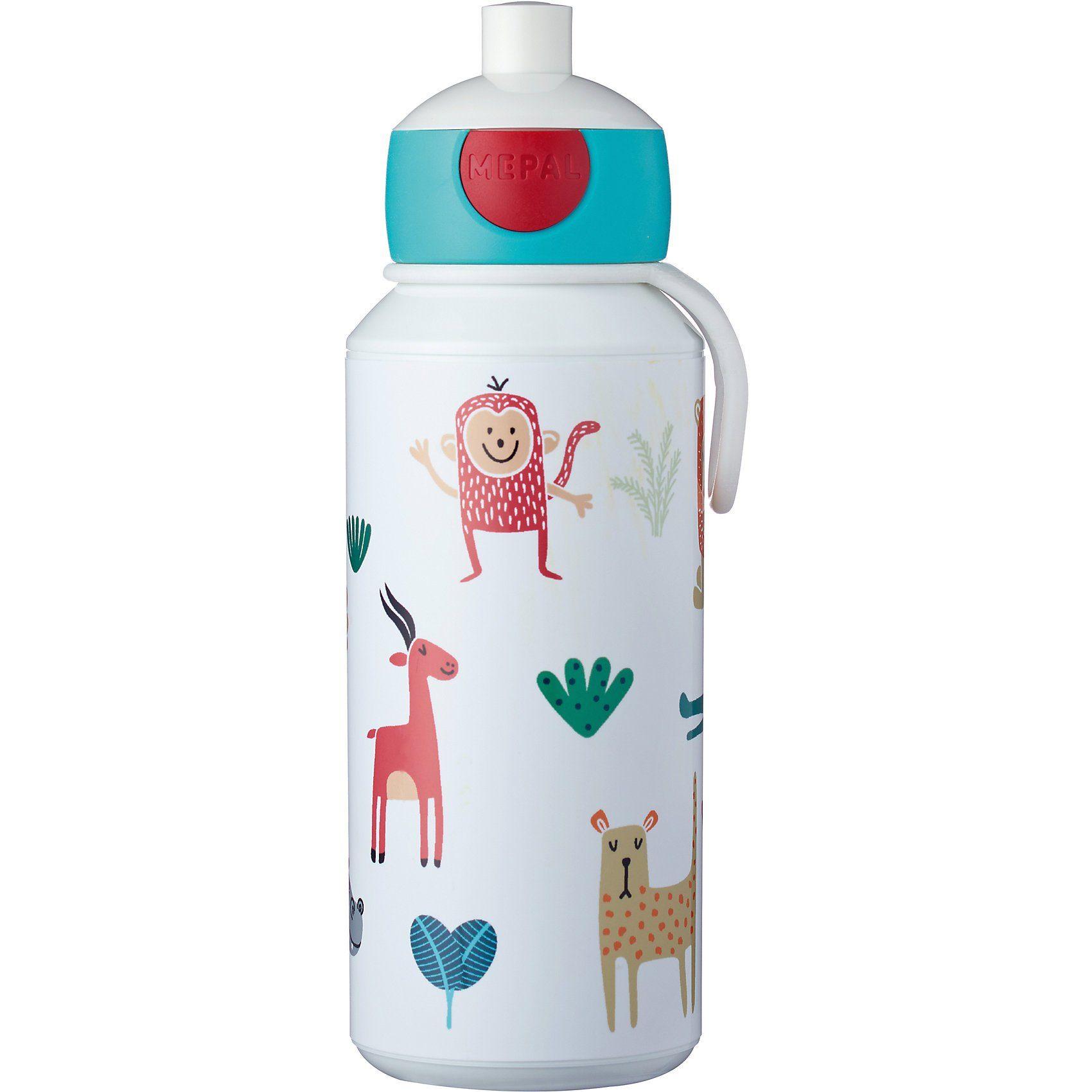 Rosti Mepal Trinkflasche pop-up campus Animal Friends, 400 ml