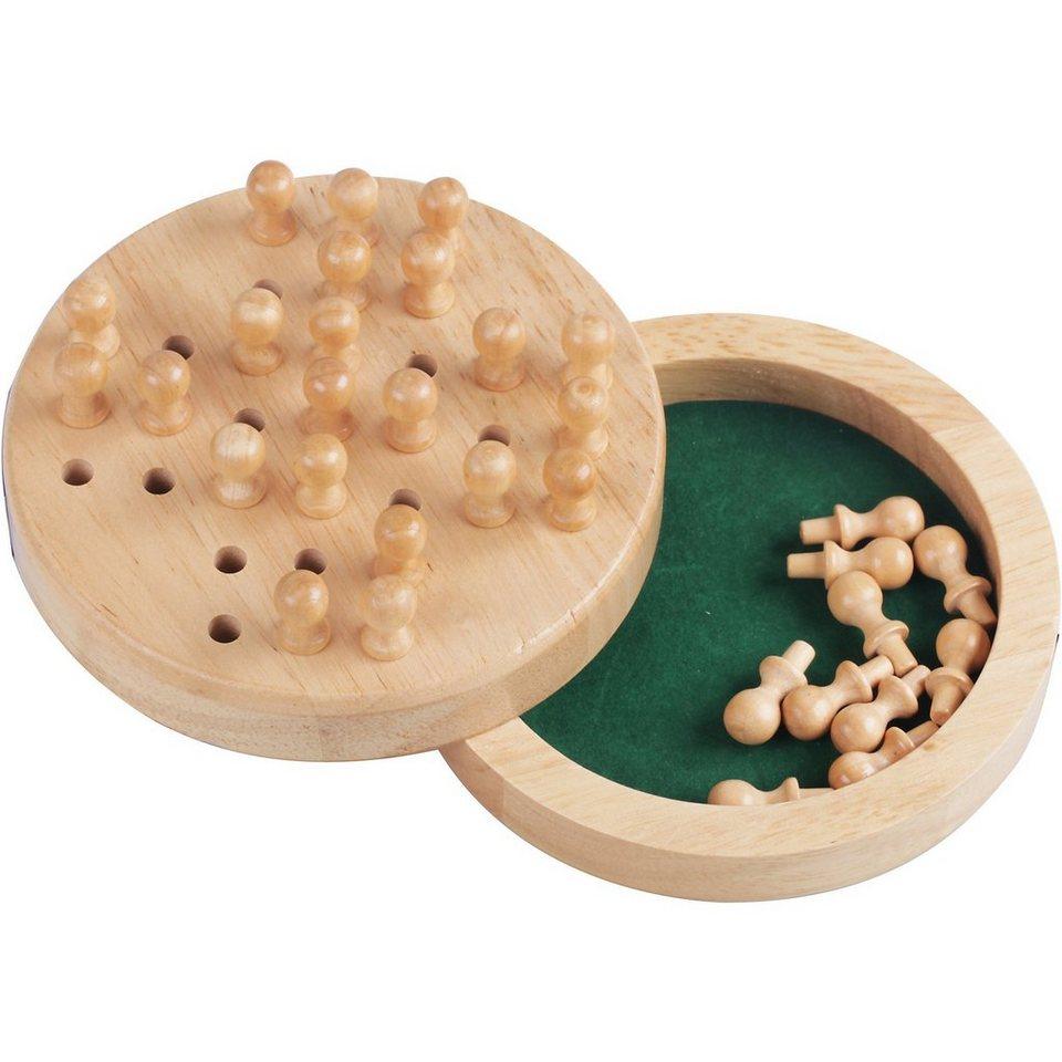 Natural Games Solitaire aus Holz, 12 cm kaufen