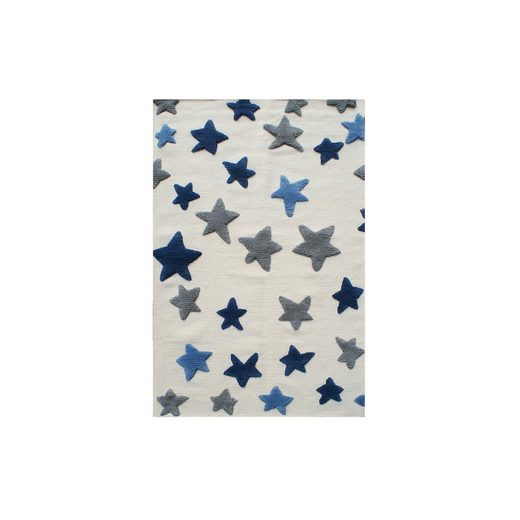 Happy Rugs Kinderteppich, SEASTAR natur/blau-grau, 120 x 180 cm