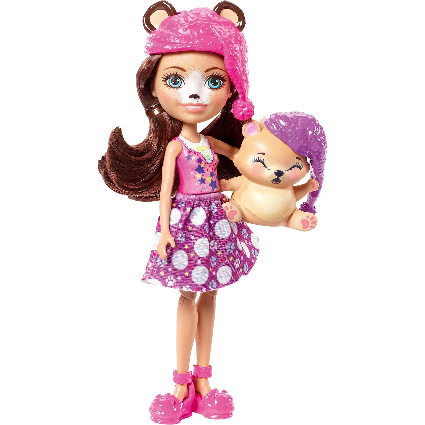 Enchantimals Spielplatz Adventures Felicity Fox Puppe Und Flick Puppen & Zubehör