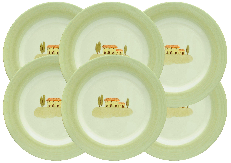 Zeller Keramik Speiseteller 6er-Set »Bella Toscana«