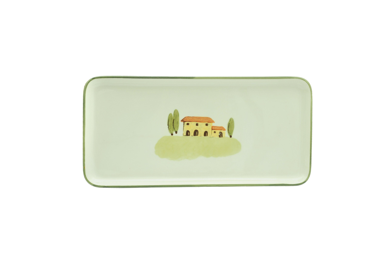 Zeller Keramik Stollenplatte »Bella Toscana«