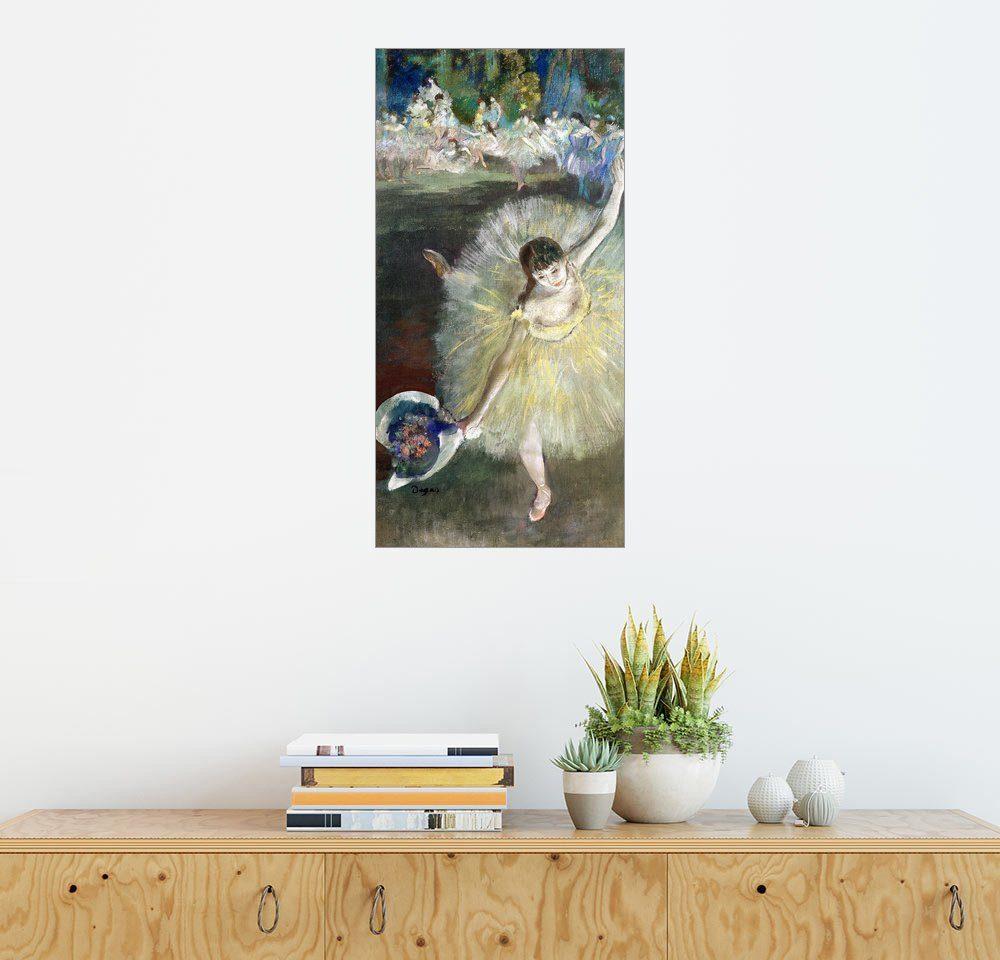 Posterlounge Wandbild - Edgar Degas Ende einer Arabeske