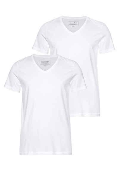 TOM TAILOR Denim T-Shirt (Packung, 2-tlg., 2er-Pack)
