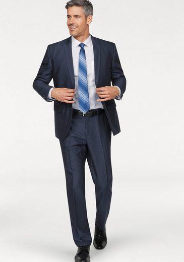 Man's World City Business Anzug 3-teilig (3-tlg., mit Krawatte)