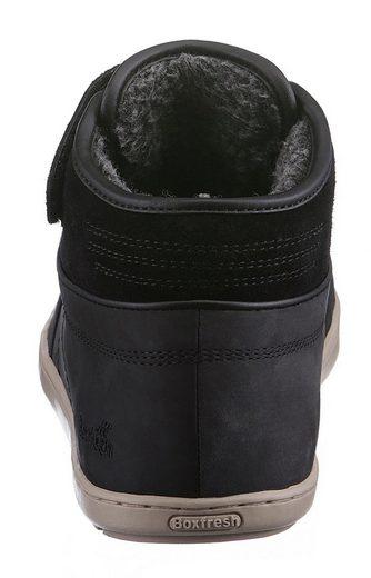 Sneaker Klettverschluss Boxfresh »swich Praktischem Mit Blok« qww8zvgn