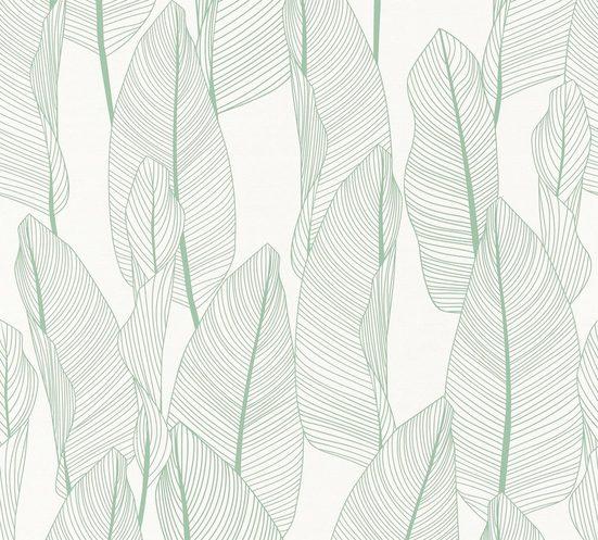 A.S. Création Vliestapete »Exotic Life mit Blättern floral«, floral