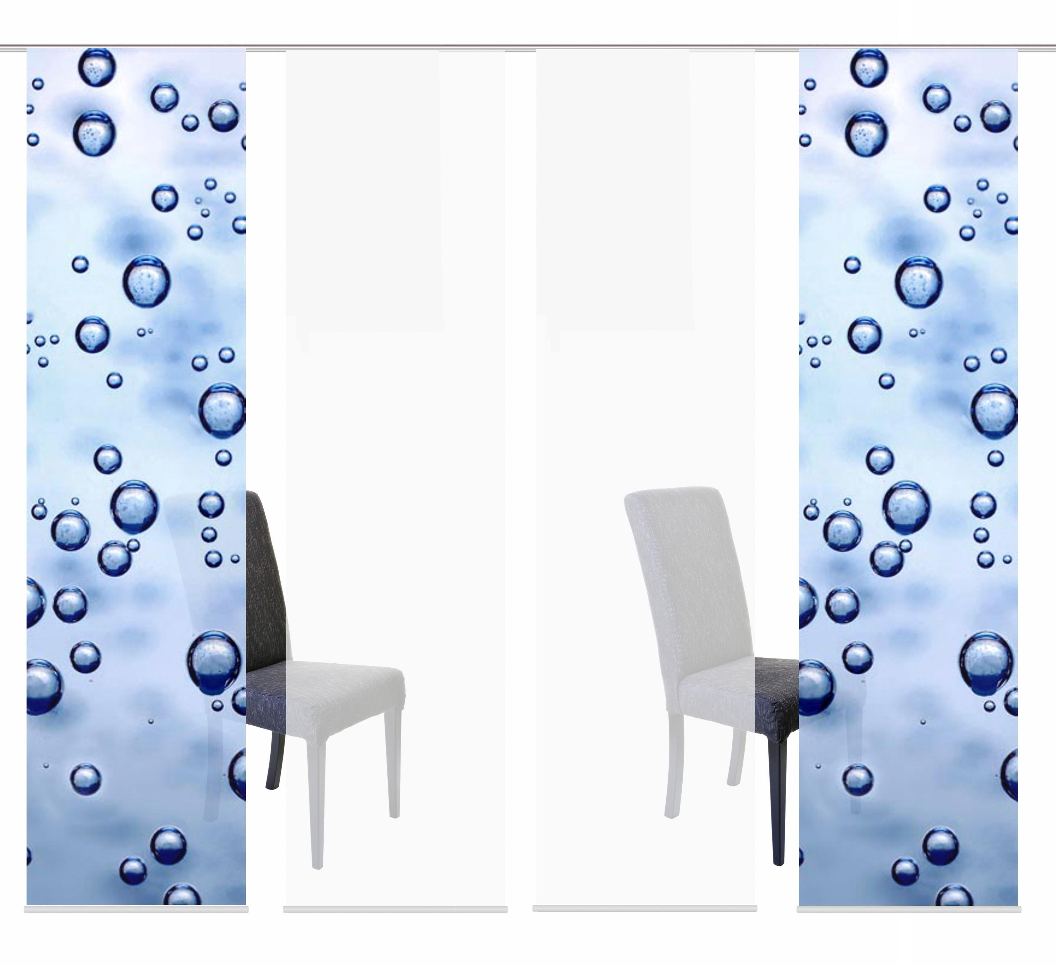 schiebegardine digitaldruck preisvergleich die besten angebote online kaufen. Black Bedroom Furniture Sets. Home Design Ideas