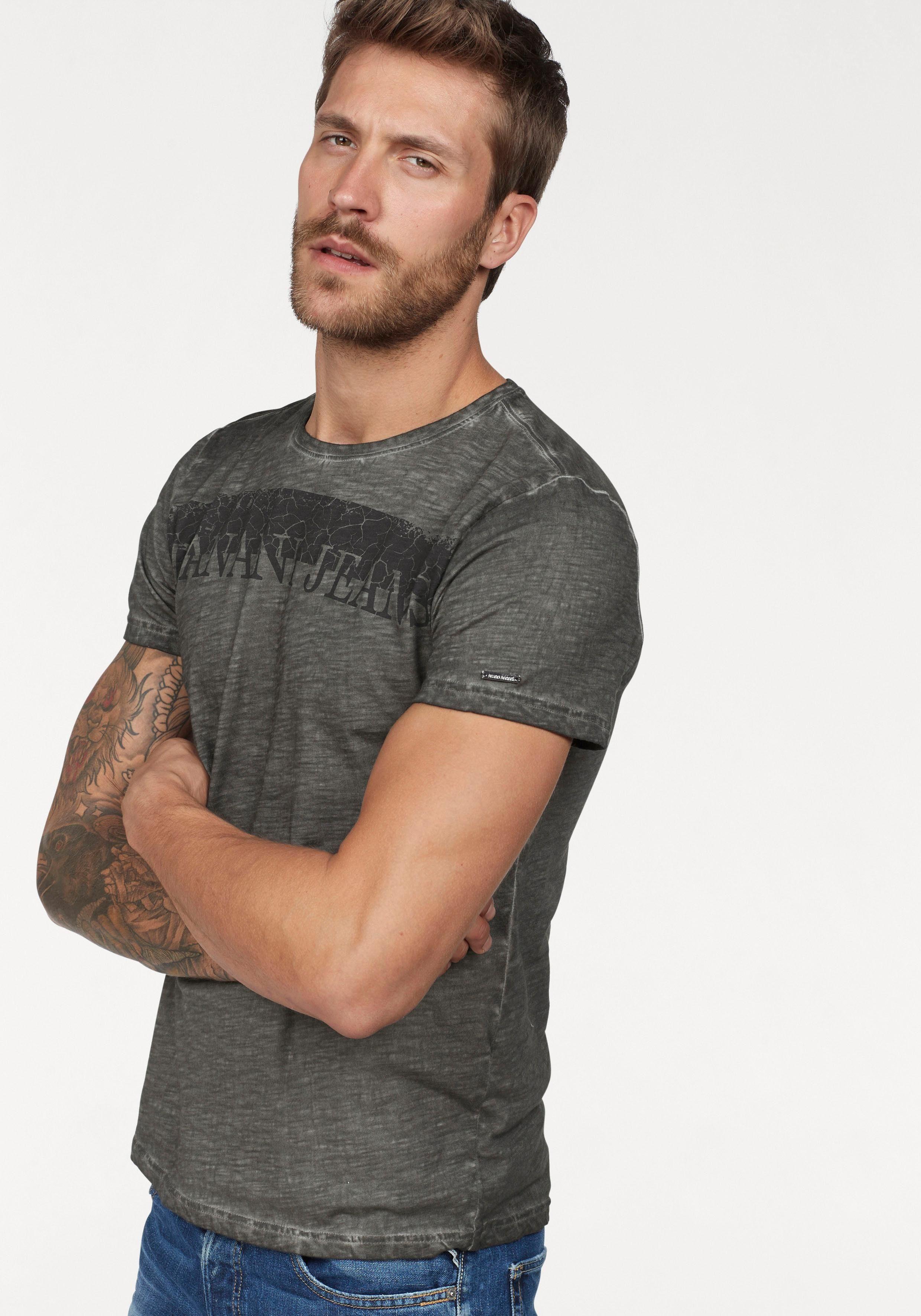 Bruno Banani T-Shirt Slubyarn