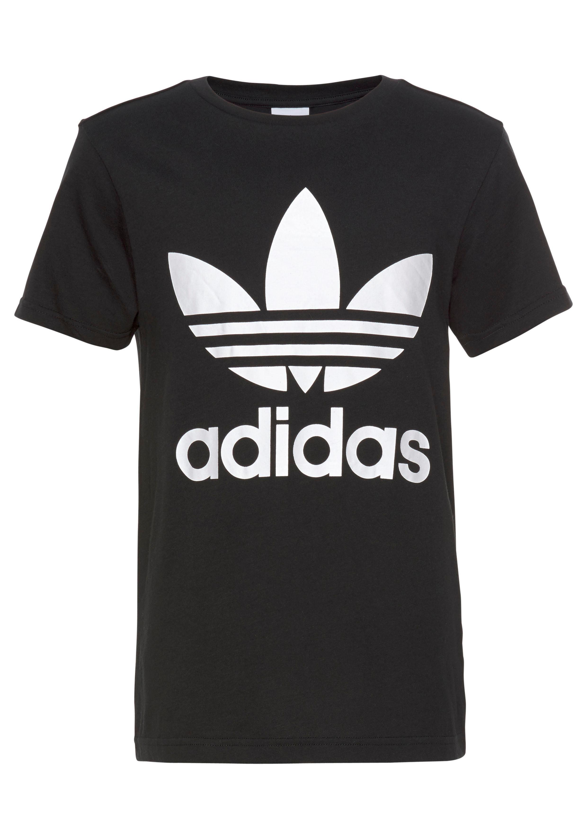 adidas t shirt mädchen schwarz