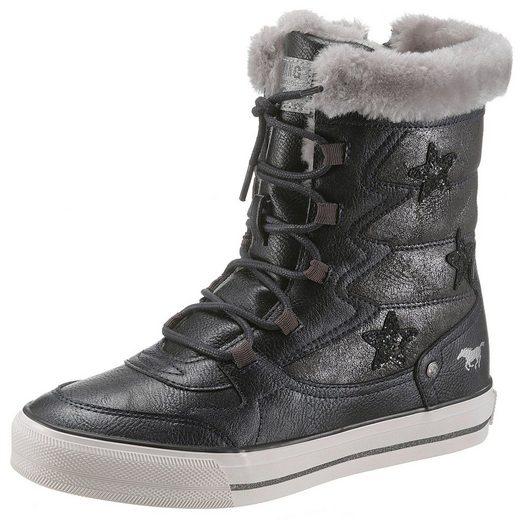 Trendigen Glitzersteinen Sneaker Mit Shoes Mustang aqBtw7t