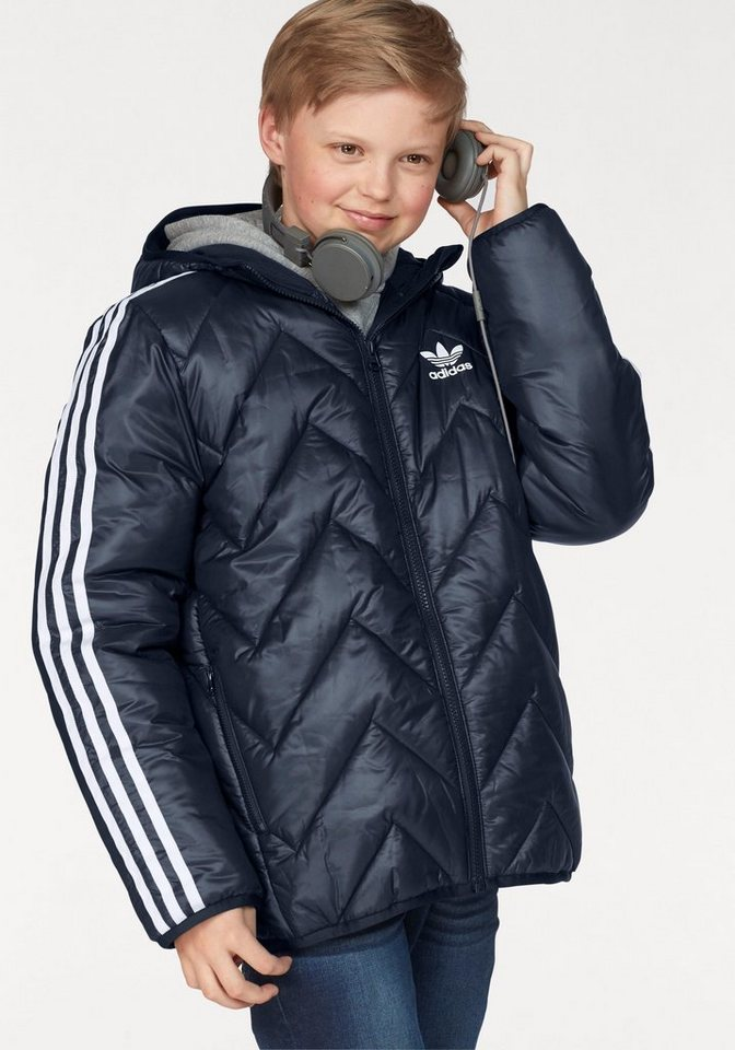 5ceffc683a813 adidas Originals Steppjacke »JUNIOR TREFOIL MID STRIPES JACKET ...