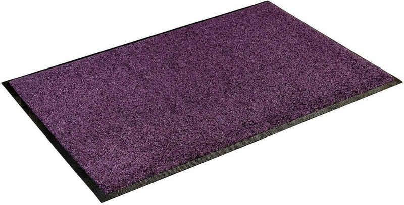 Läufer »Trend Uni«, wash+dry by Kleen-Tex, rechteckig, Höhe 7 mm, Schmutzfangläufer, In- und Outdoor geeignet, waschbar