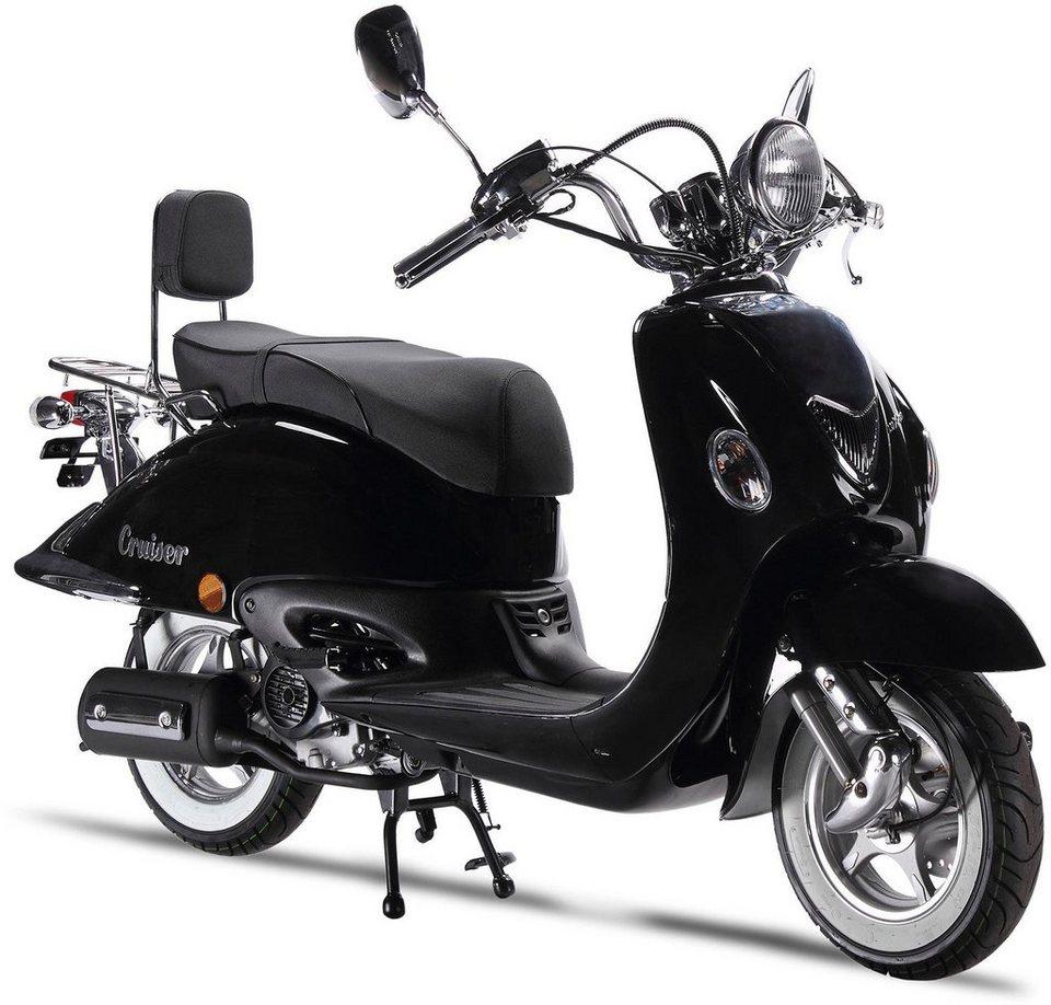luxxon motorroller cruiser 50 ccm 45 km h euro 4. Black Bedroom Furniture Sets. Home Design Ideas