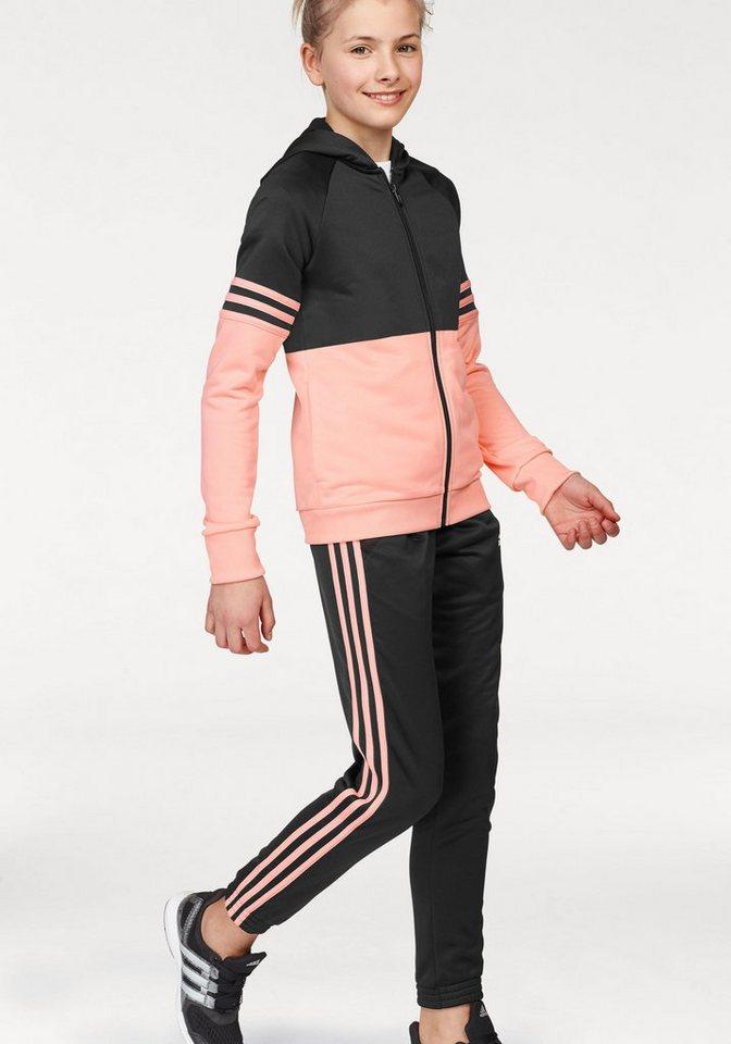 655e287e adidas Performance Спортивный костюм »YOUTH GIRLS HOOD TRACKSUIT« (Set, 2  tlg)