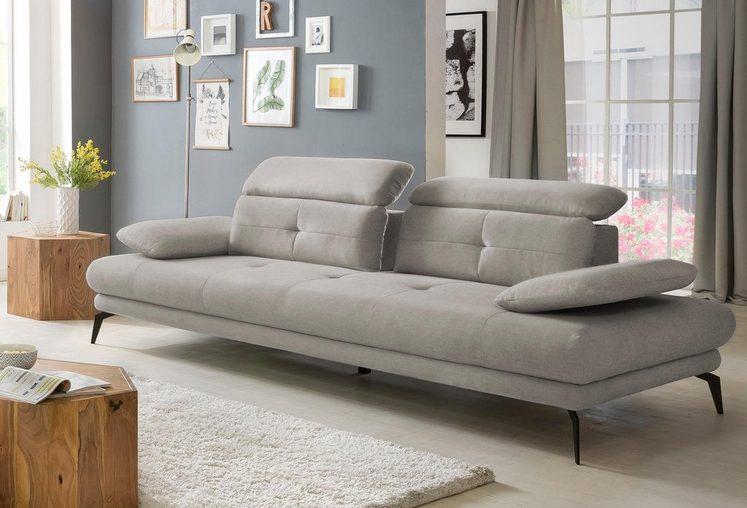 Places of Style 3-Sitzer »SUN«, inklusive Rücken- und Armlehnenverstellung