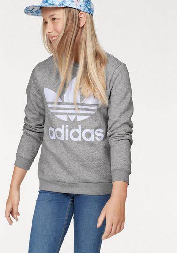 adidas Originals Sweatshirt »JUNIORW CREW« für Mädchen und Jungen