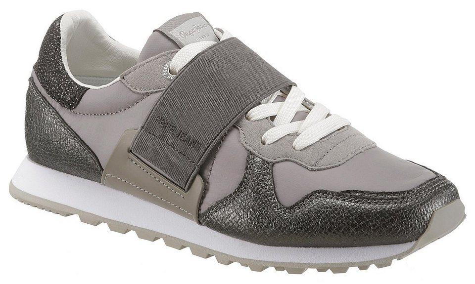 9f5943ac61f0c4 Pepe Jeans »Verona W New Elastic« Sneaker mit Gummizug über der Schnürung