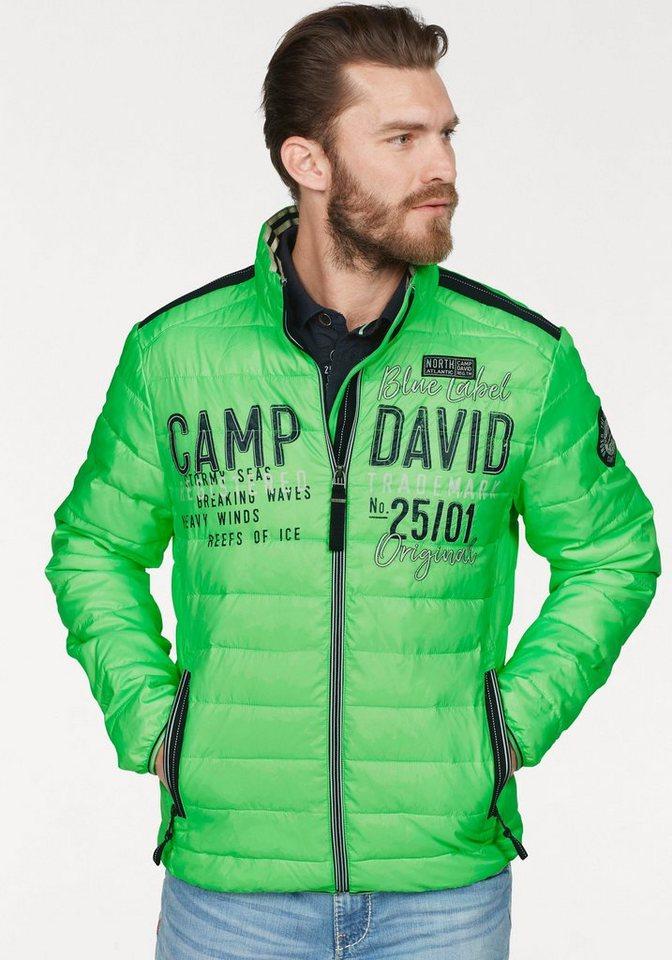 CAMP DAVID Steppjacke im Neon-Look online kaufen | OTTO