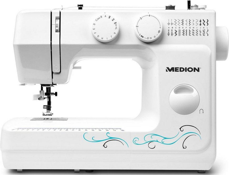medion n hmaschine md 18205 sewing machine 60 programme. Black Bedroom Furniture Sets. Home Design Ideas