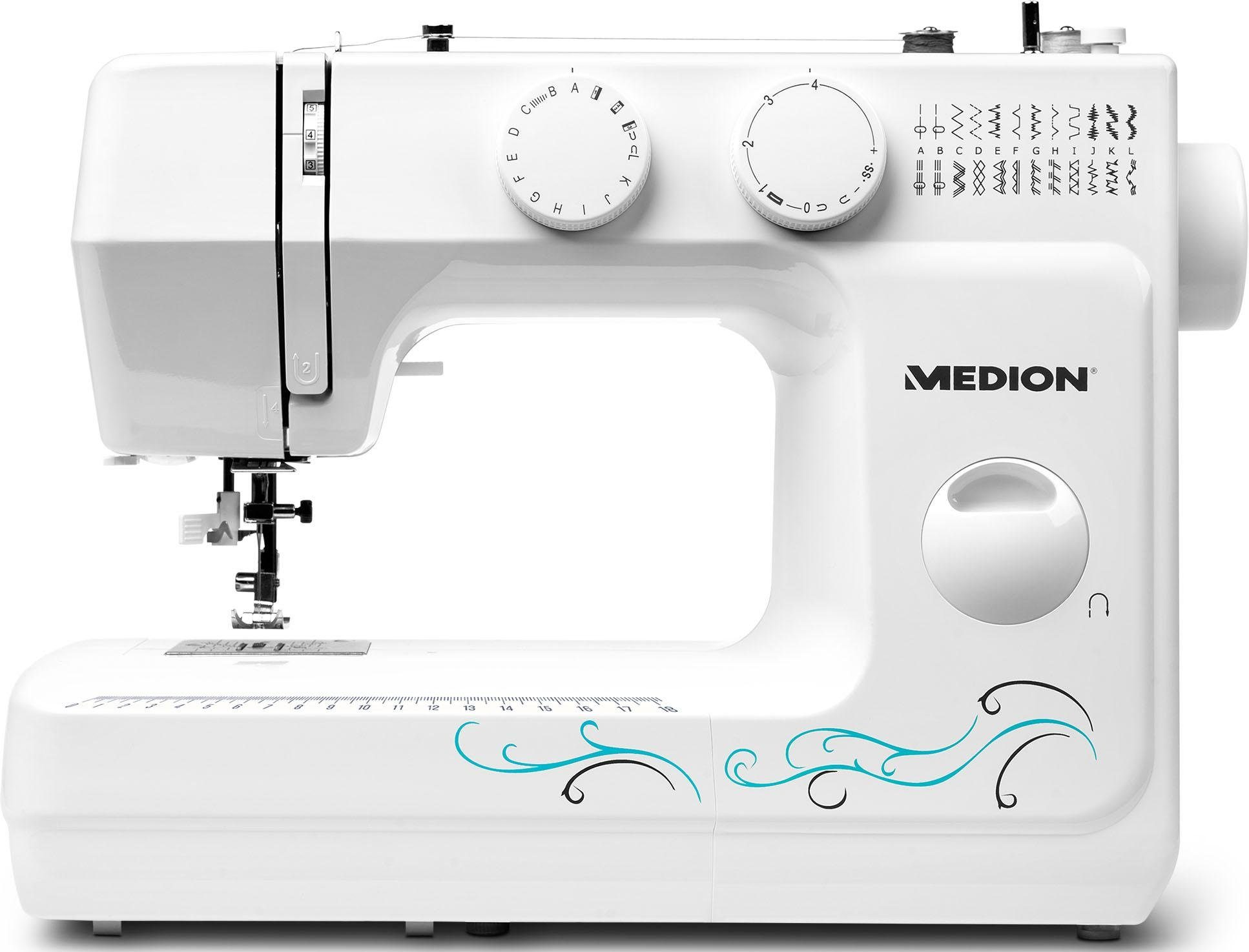 Medion® Nähmaschine MD 18205 sewing machine, 60 Programme