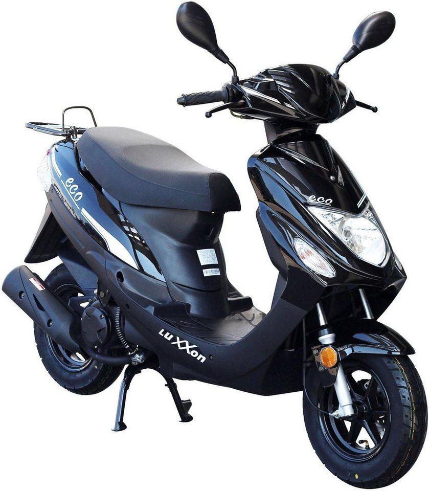 luxxon motorroller eco 50 ccm 45 km h euro 4 otto. Black Bedroom Furniture Sets. Home Design Ideas