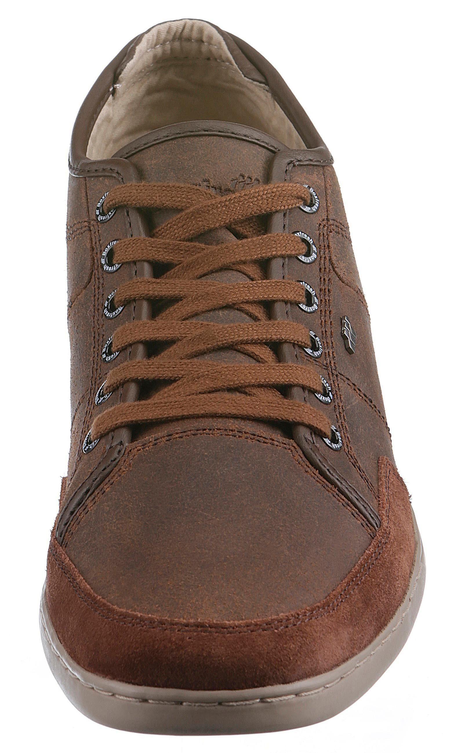 Artikel Kaufen Im Ledermix Sneaker nr Schwarz 4081144759 Sparko Boxfresh XPUCqw46