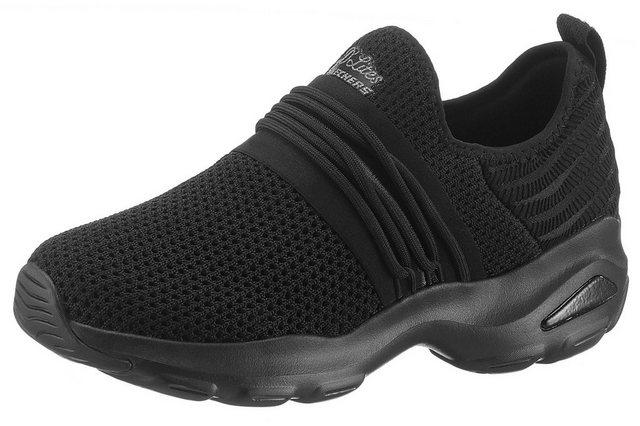 skechers -  »D´Lite Ultra - Semi-Precious« Slip-On Sneaker mit Air Cooled Memory Foam