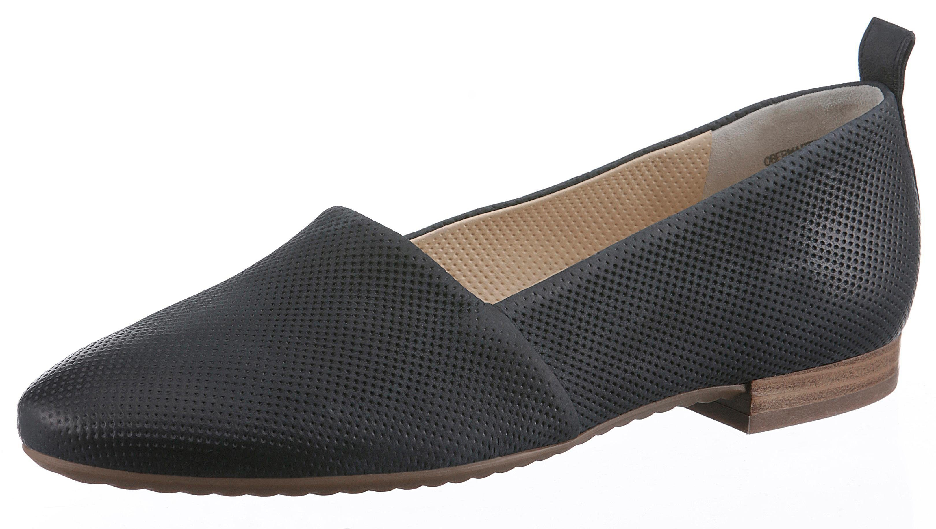 Paul Green Slipper, mit feiner Perforation kaufen  dunkelblau