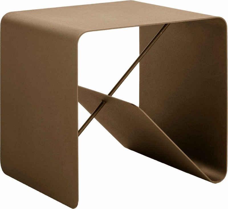 hülsta Beistelltisch »MULTI - VARIS 01«, aus Metall, Höhe 42,5 cm
