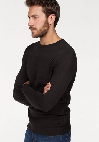 BRUNO BANANI Пуловер с круглым вырезом