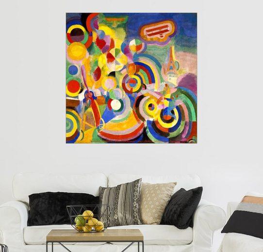 Posterlounge Wandbild - Robert Delaunay »Hommage an Blériot«