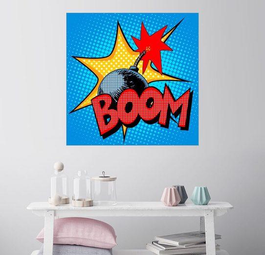 Posterlounge Wandbild »Boom«