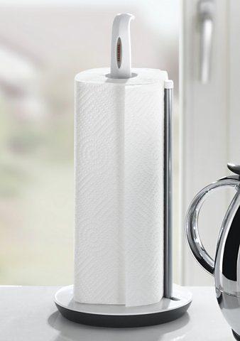 Leifheit Küchenrollenhalter, für einfaches Abreißen mit einer Hand