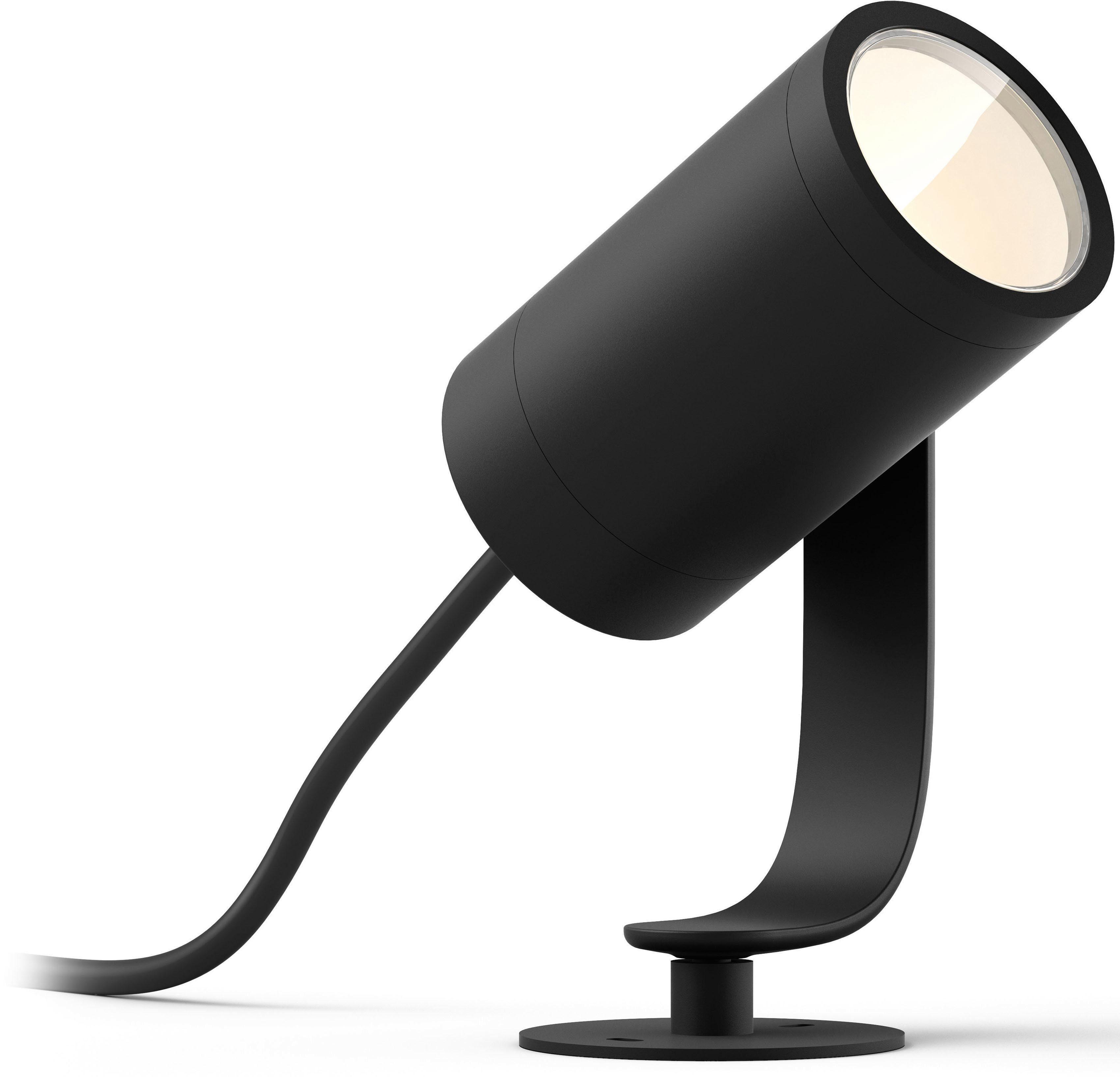 Philips Hue LED Gartenstrahler »Lily«, 1-flammig, Erweiterung (ohne Netzteil) - Base Kit 1- oder 3-flammig erforderlich