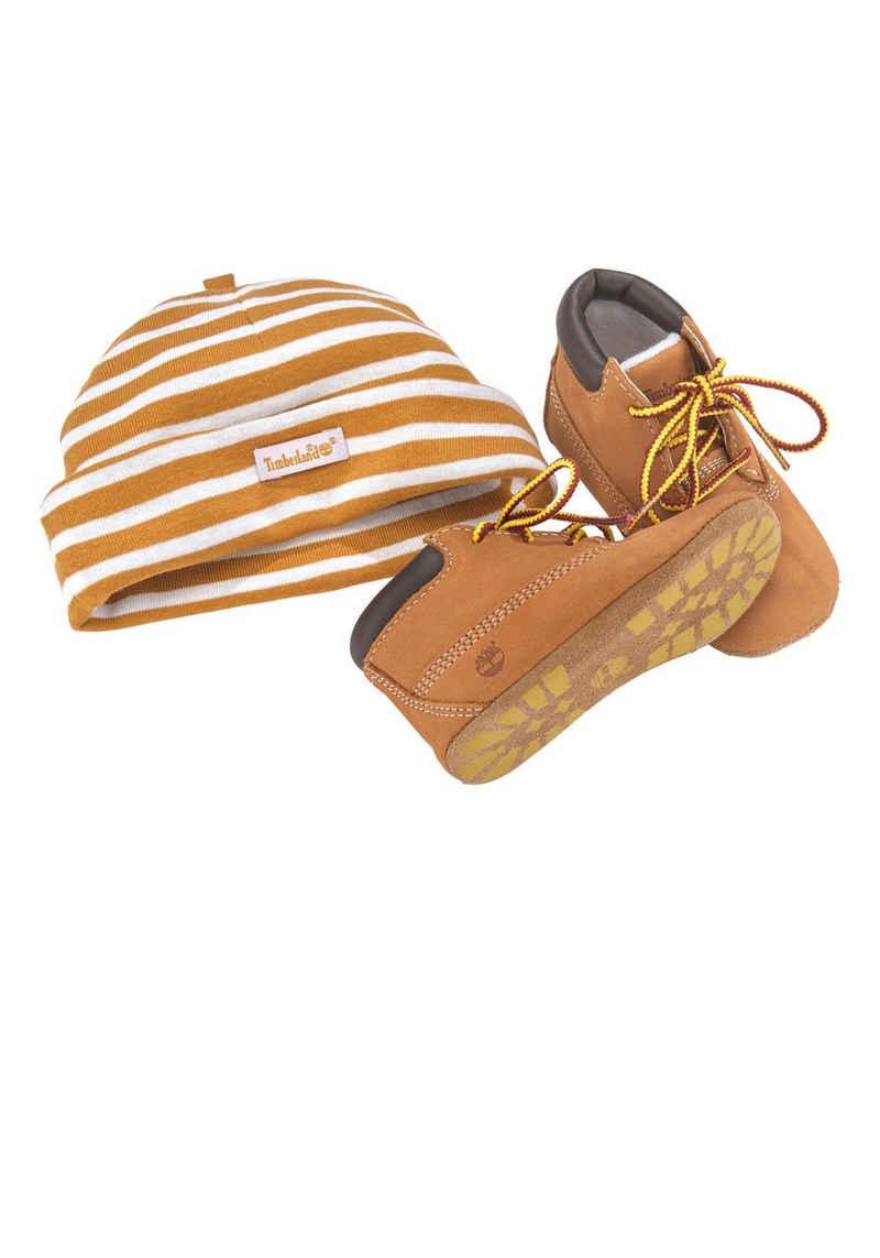 Timberland »Crib Bootie with Hat Set« Babystiefel Setartikel