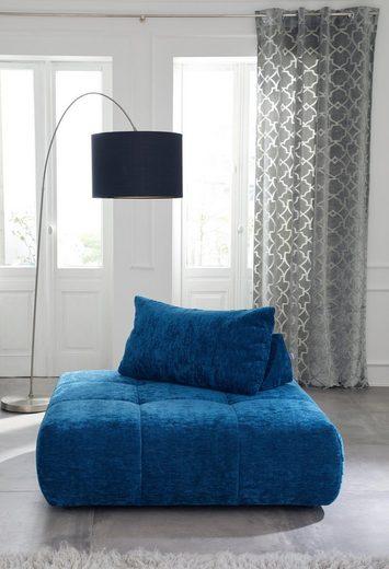 Vorhang »Frozen Velvet«, Guido Maria Kretschmer Home&Living, Ösen (2 Stück), Samtausbrenner